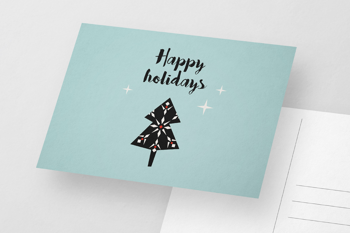 featured kerstkaarten-templates-handletteren card-9