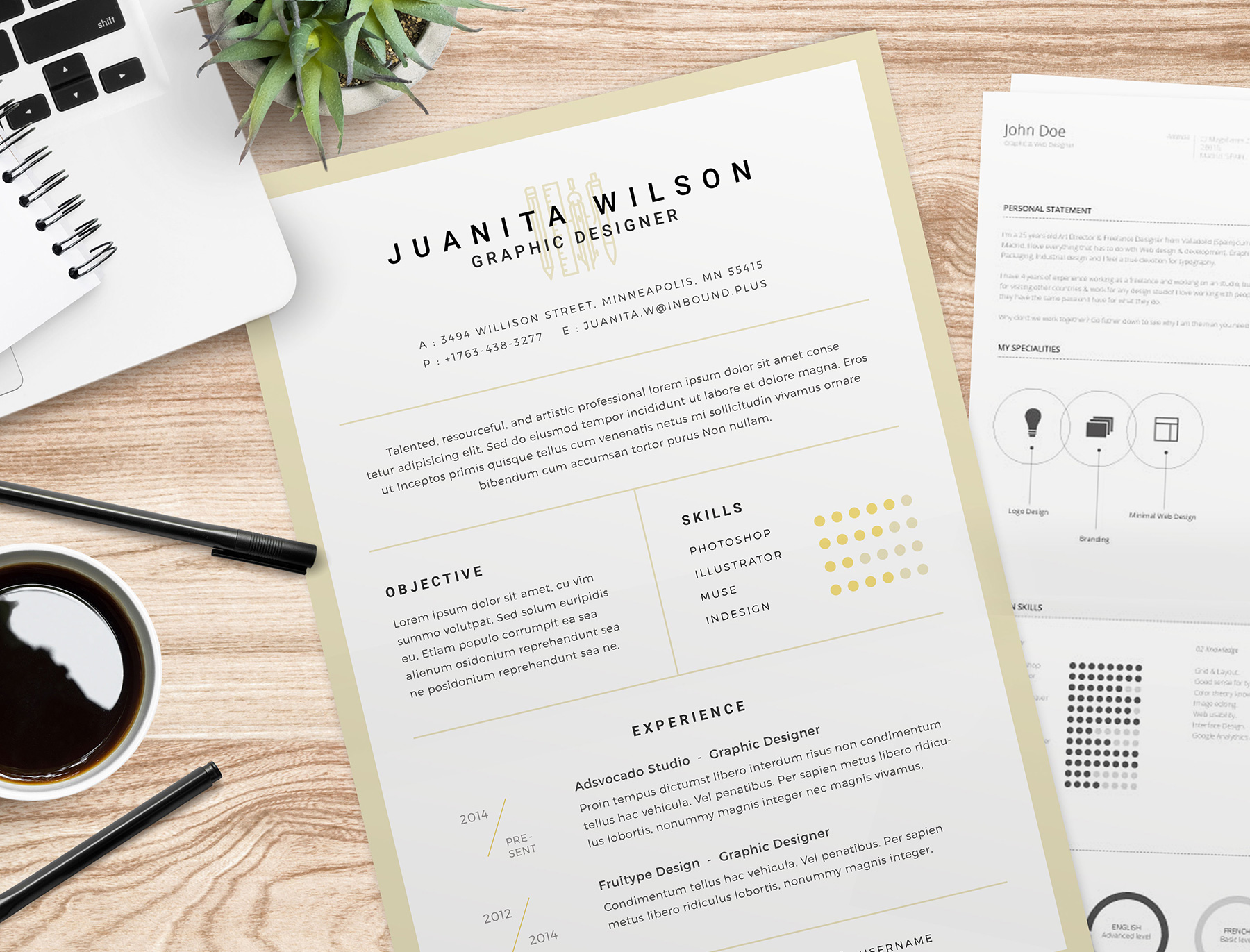 FreebieFriyay #3 - Tutorial: cv-templates