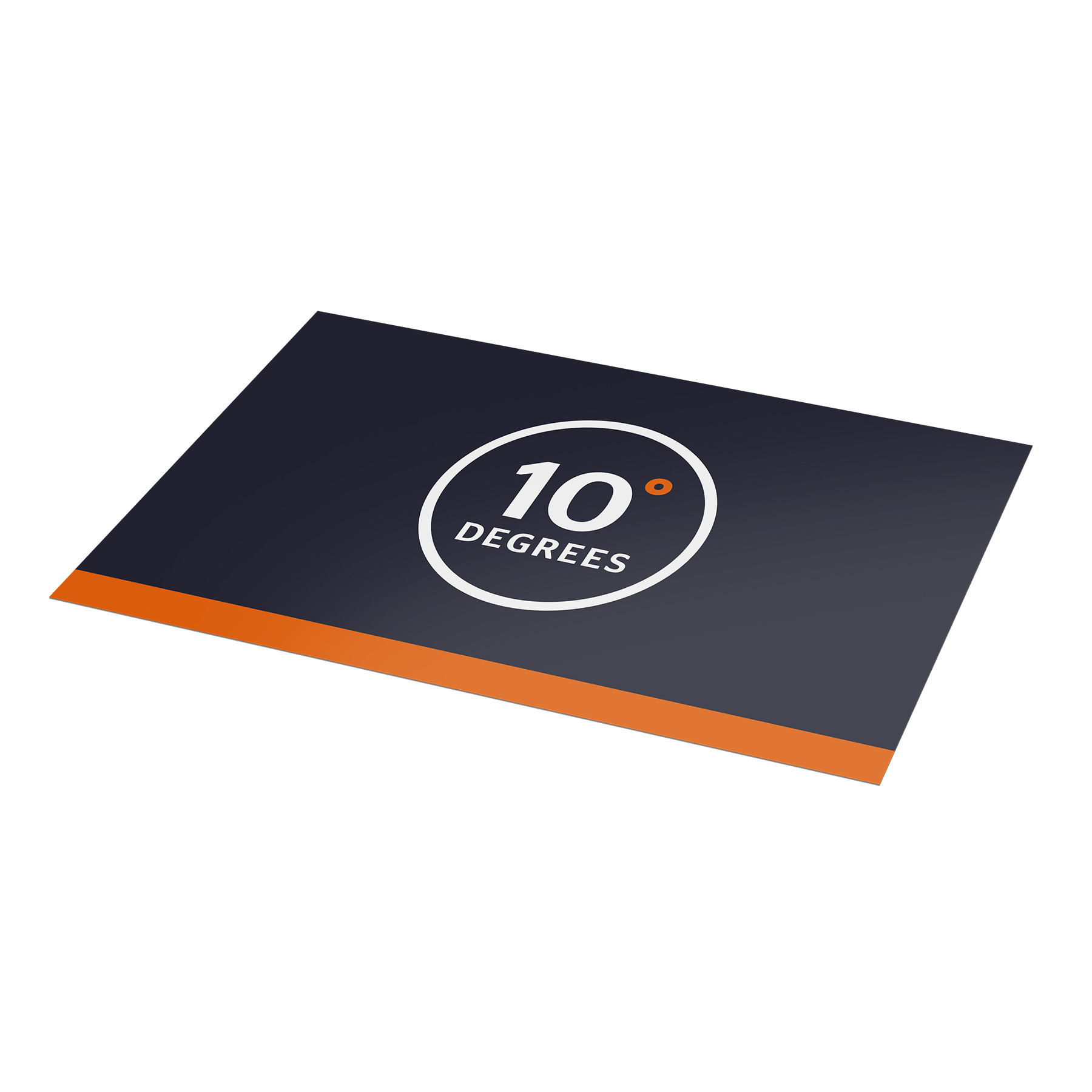 Stickers groot formaat 10 Degrees