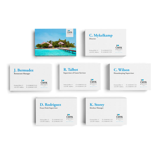 Businesscards (combination)