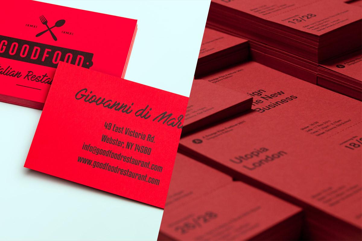 Inspiratie-Luxe-Visitekaartjes Extra-soft-rood