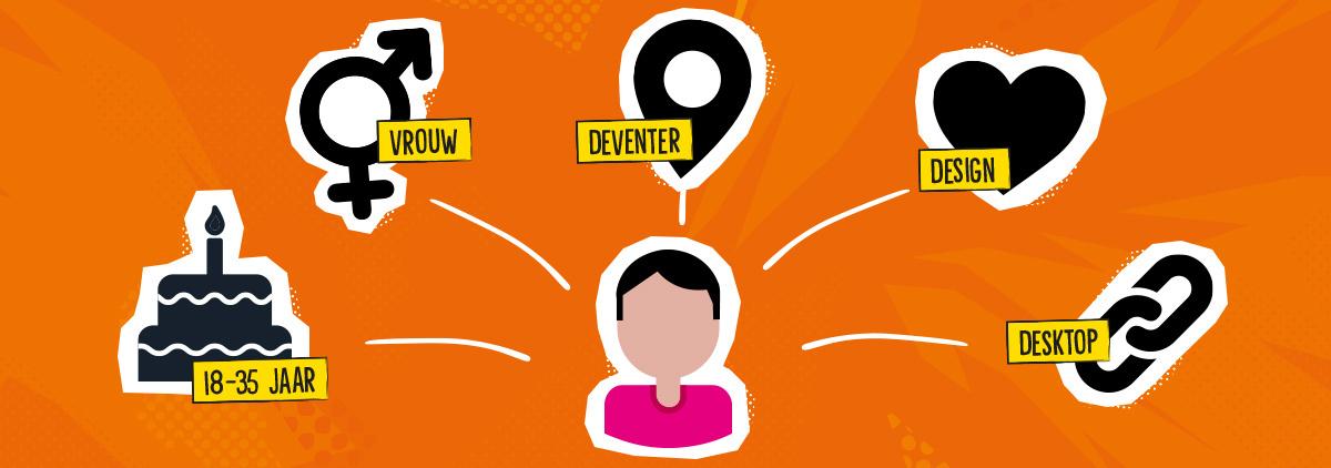 Social - tip 8: Maak inzichtelijk wie je doelgroep is