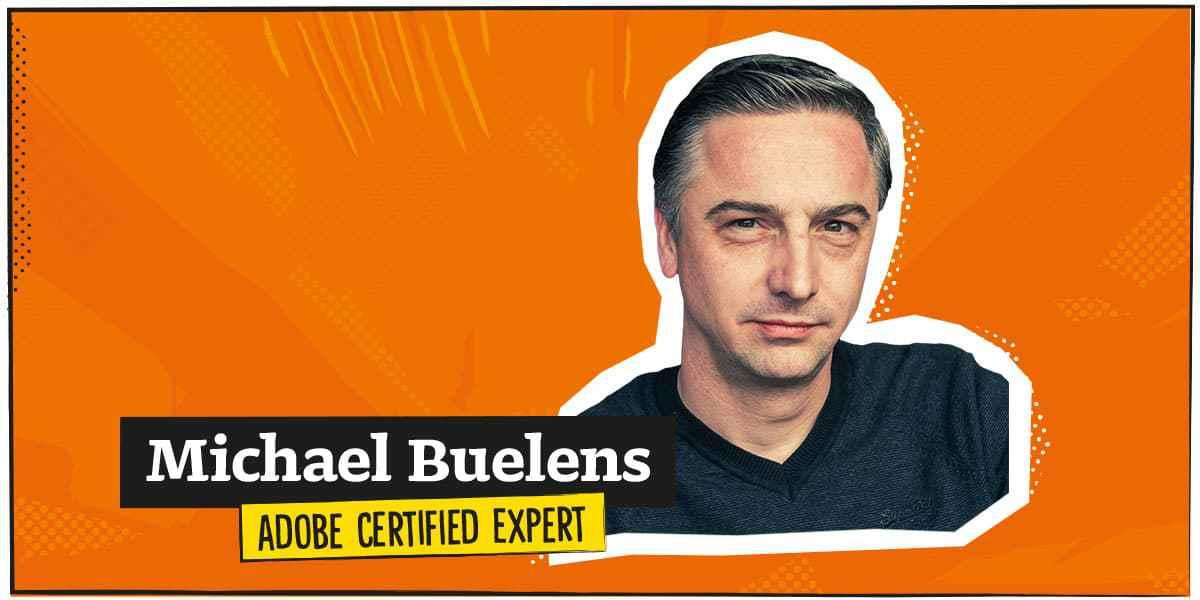 Michael Buelens, Adobe Certified Expert