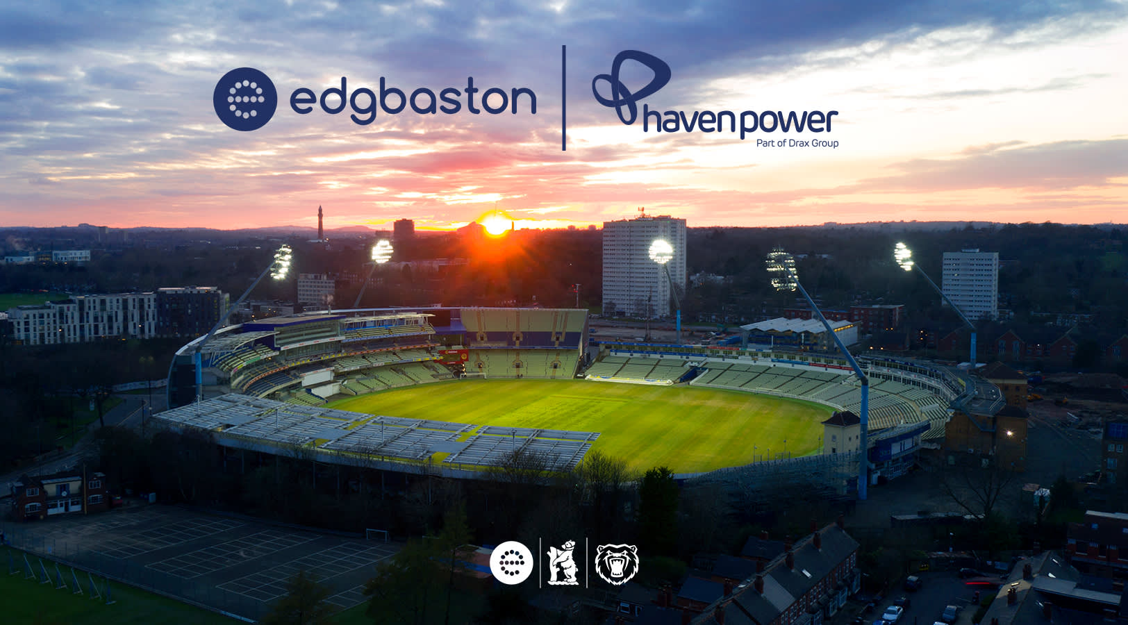 Edgbaston Stadium reinforces sustainability goals with Haven Power partnership