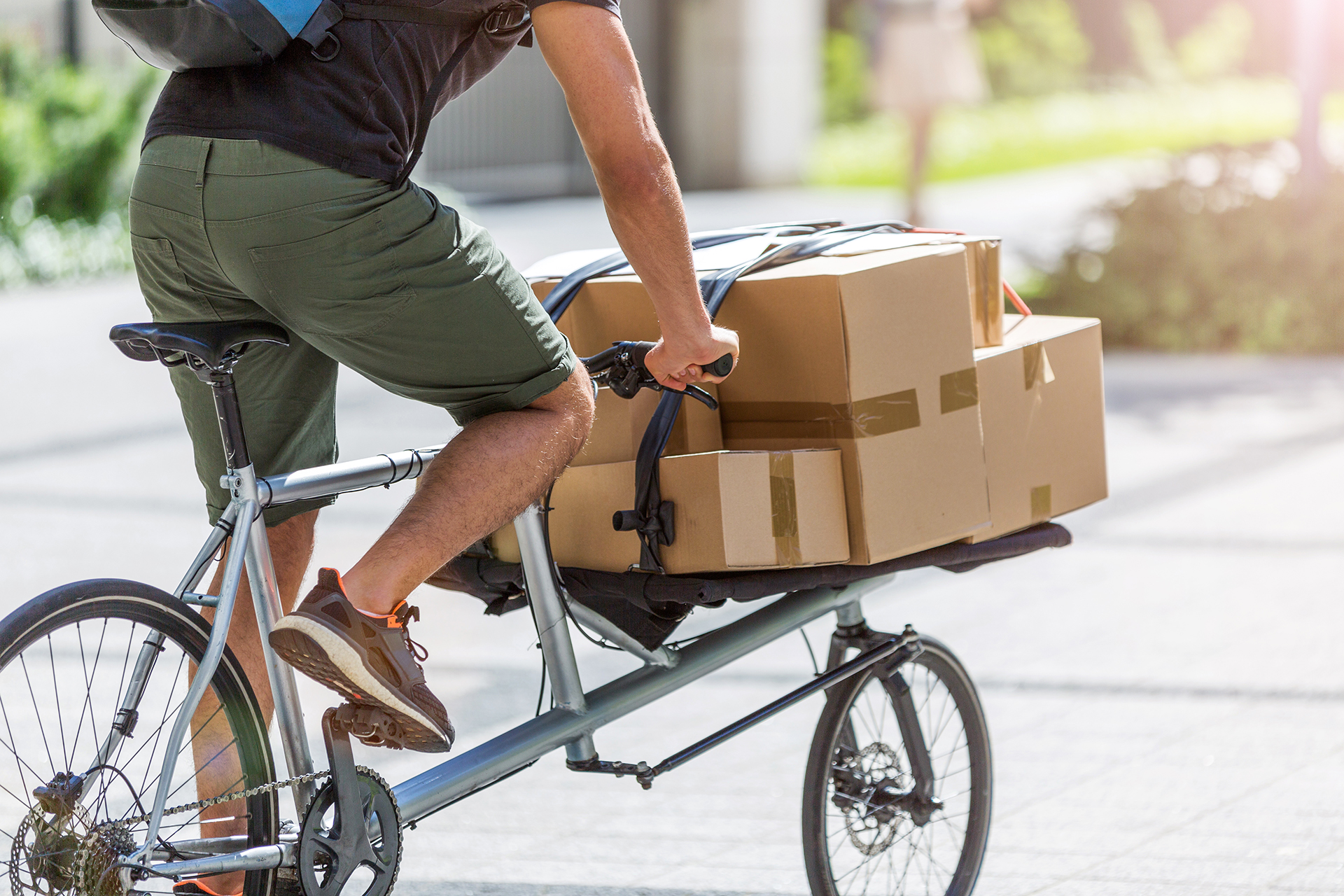 Bicycle deliveries