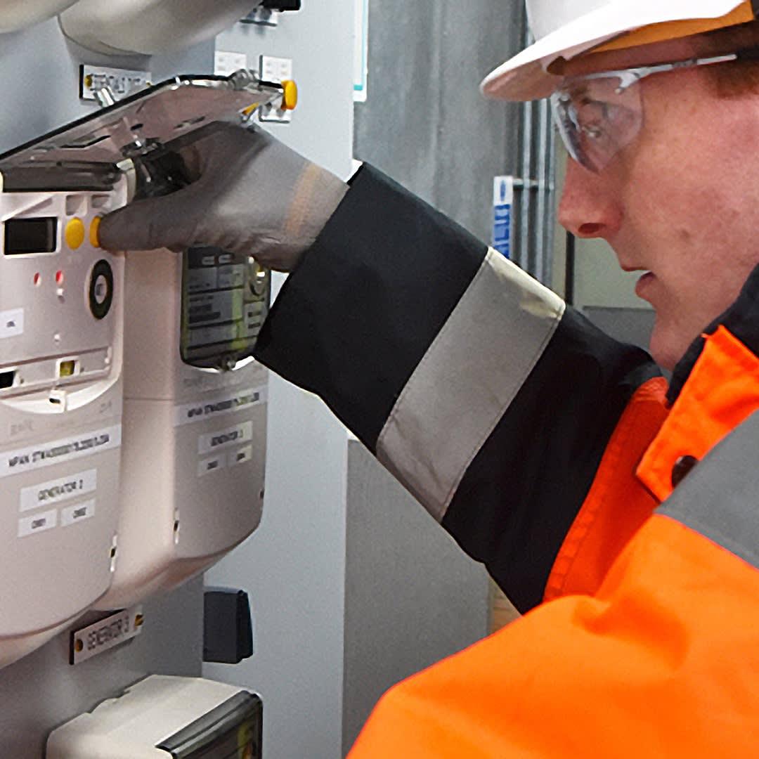 business smart meters installation