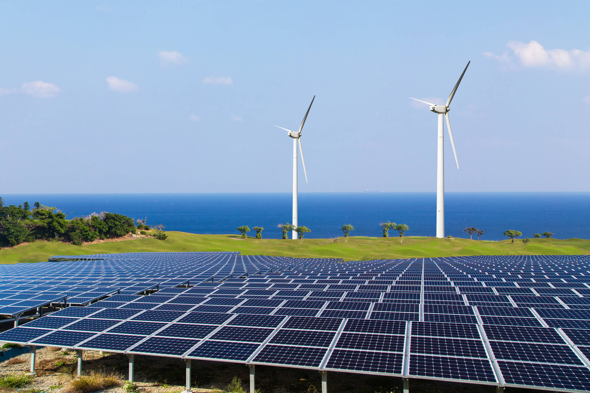 Renewables up to 45% Image
