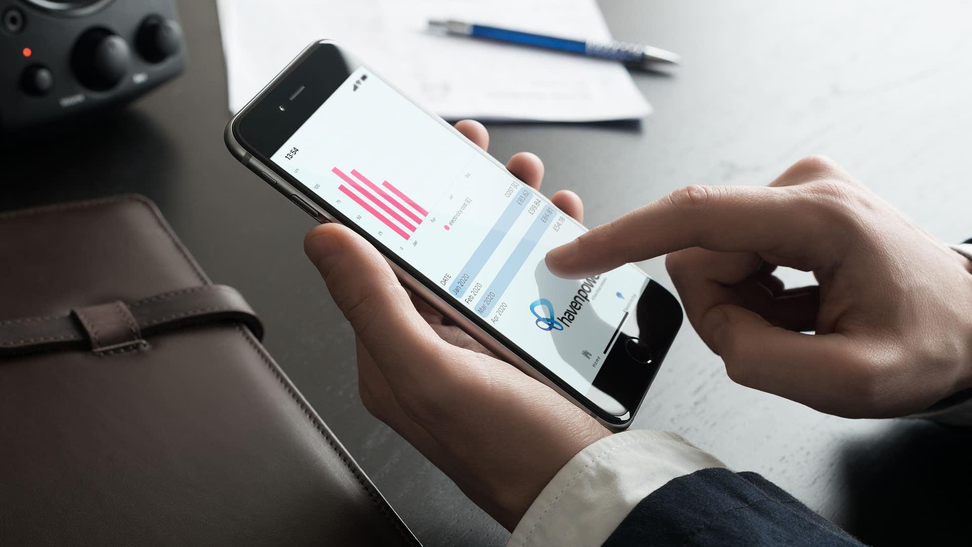 Smart App Landing Page - Hero Image