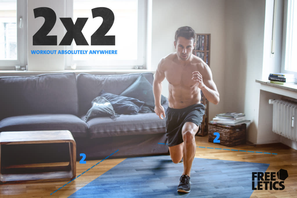 2x2 home workouts