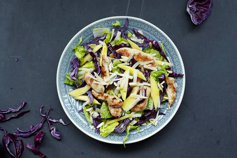 Food recipes chicken oriental