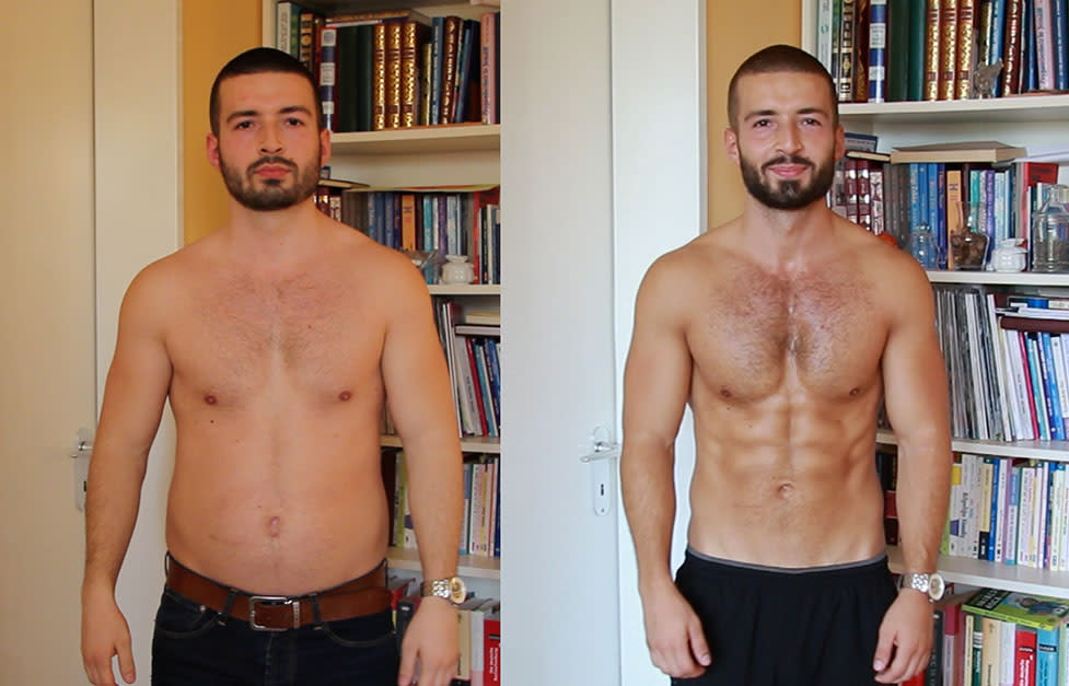 before after adem transformation