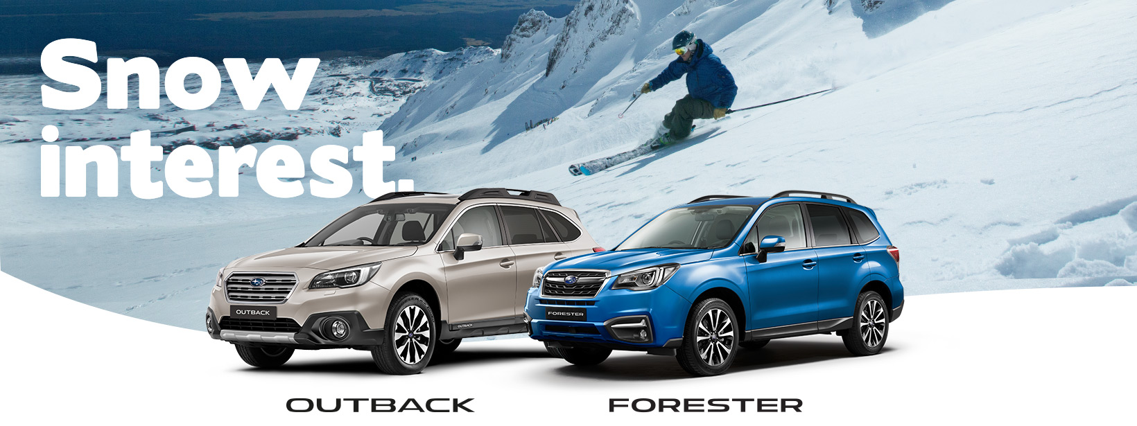 Subaru Snow Interest Promo