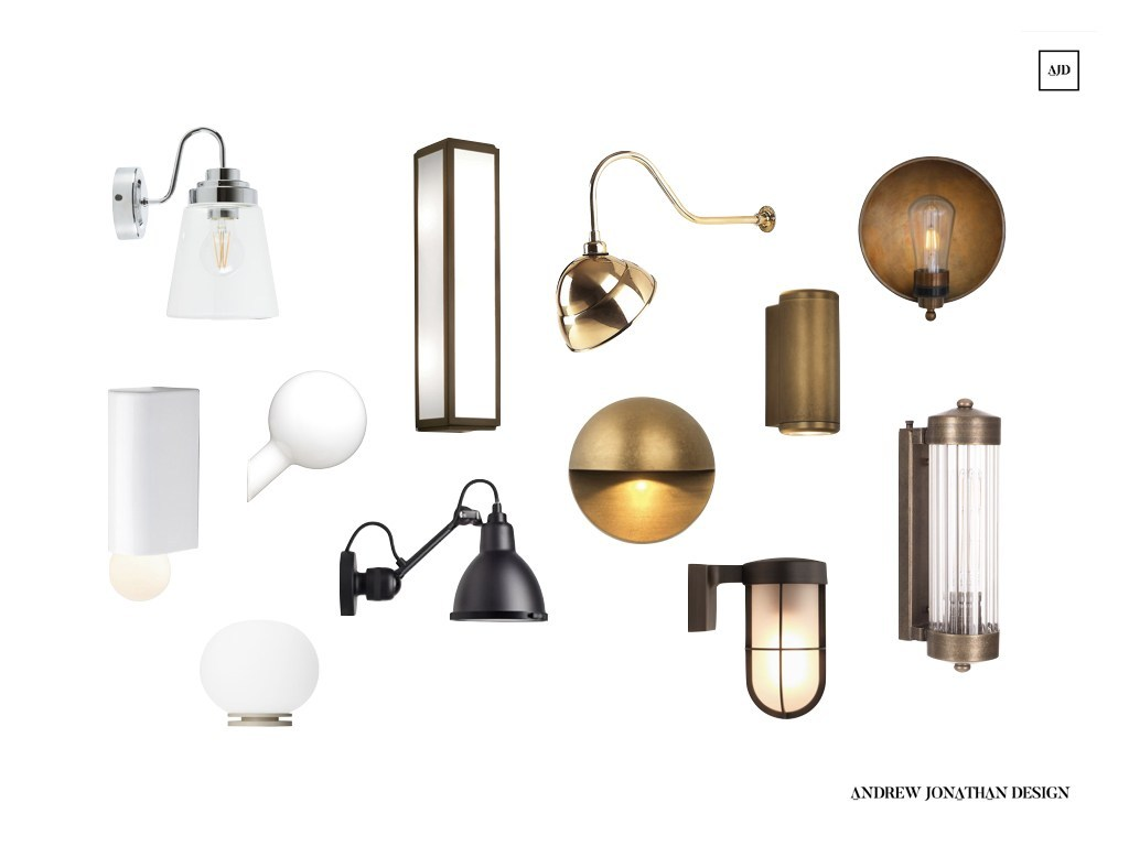 12 Of The Best Bathroom Wall Lights