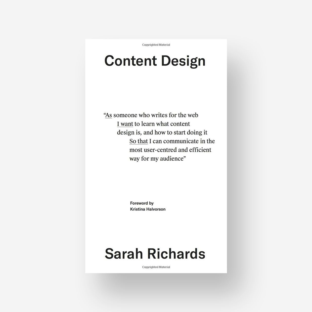 Covers 0000 Content design