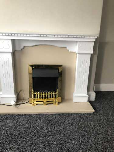 house for sale in Hartlepool fireplace