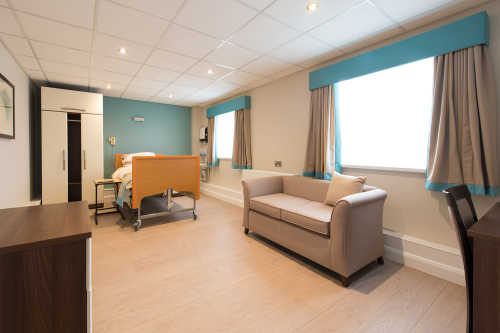Danes Pathway Care Home Bedroom