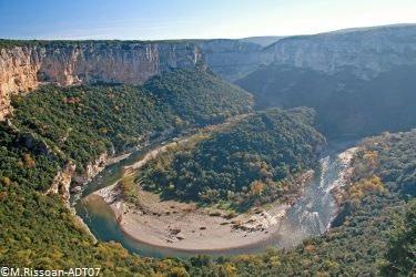 Ardèche-Schluchten © M. Rissoan - ADT07