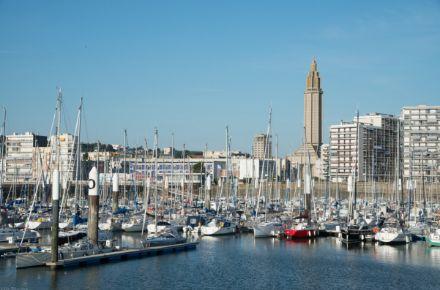 Le Port de plaisance, Le Havre