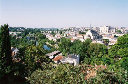 Vue panoramique, Poitiers