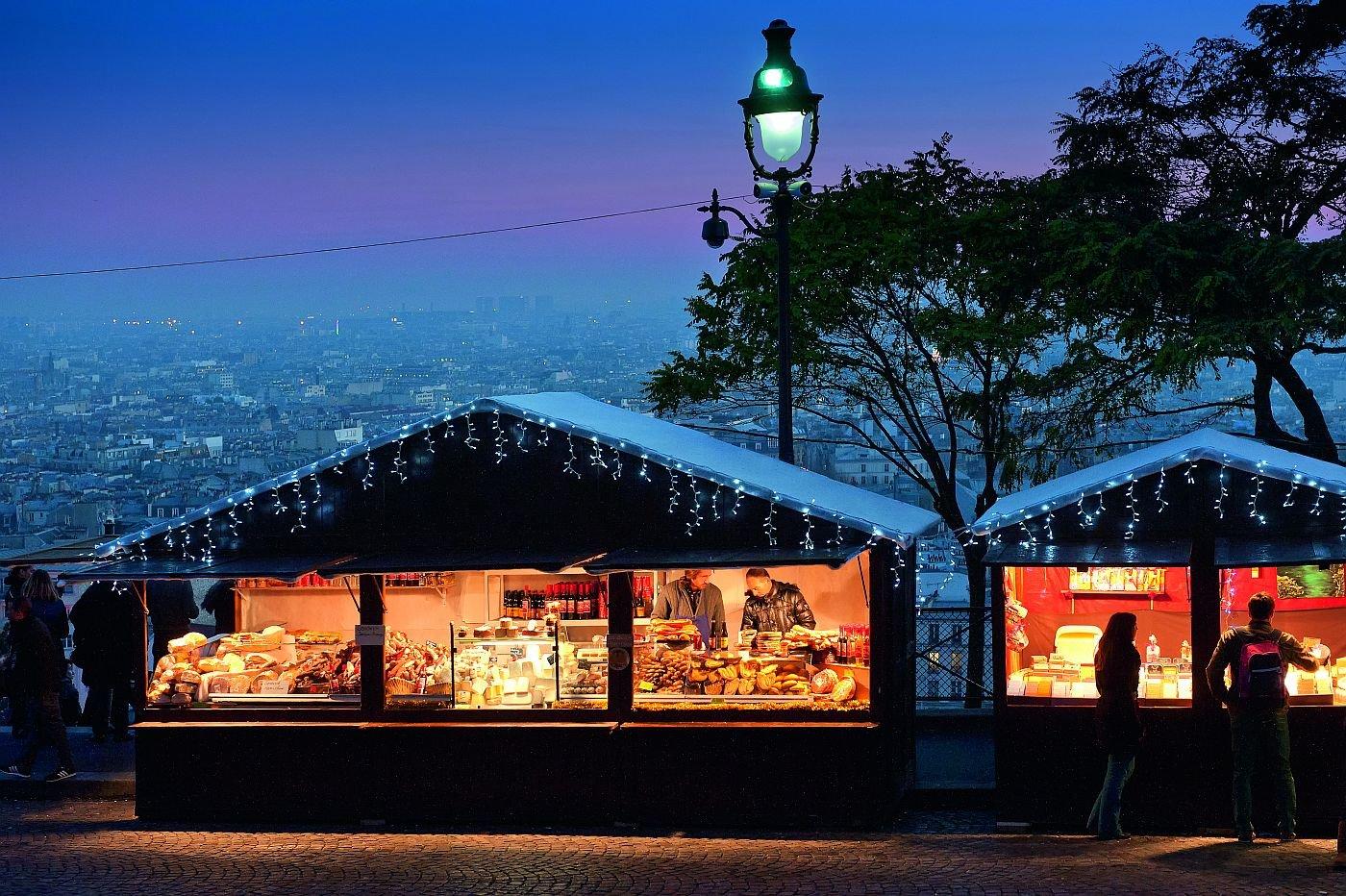 Weihnachtsmärkte in Paris