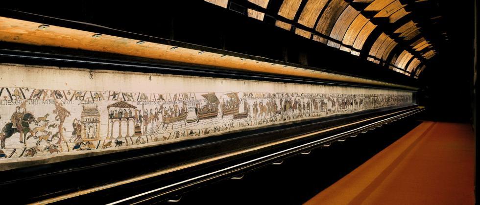 Normandie Le Musée De La Tapisserie De Bayeux
