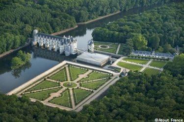 Reiseroute Loire-Schlösser Chenonceau © Atout France Joel Damase
