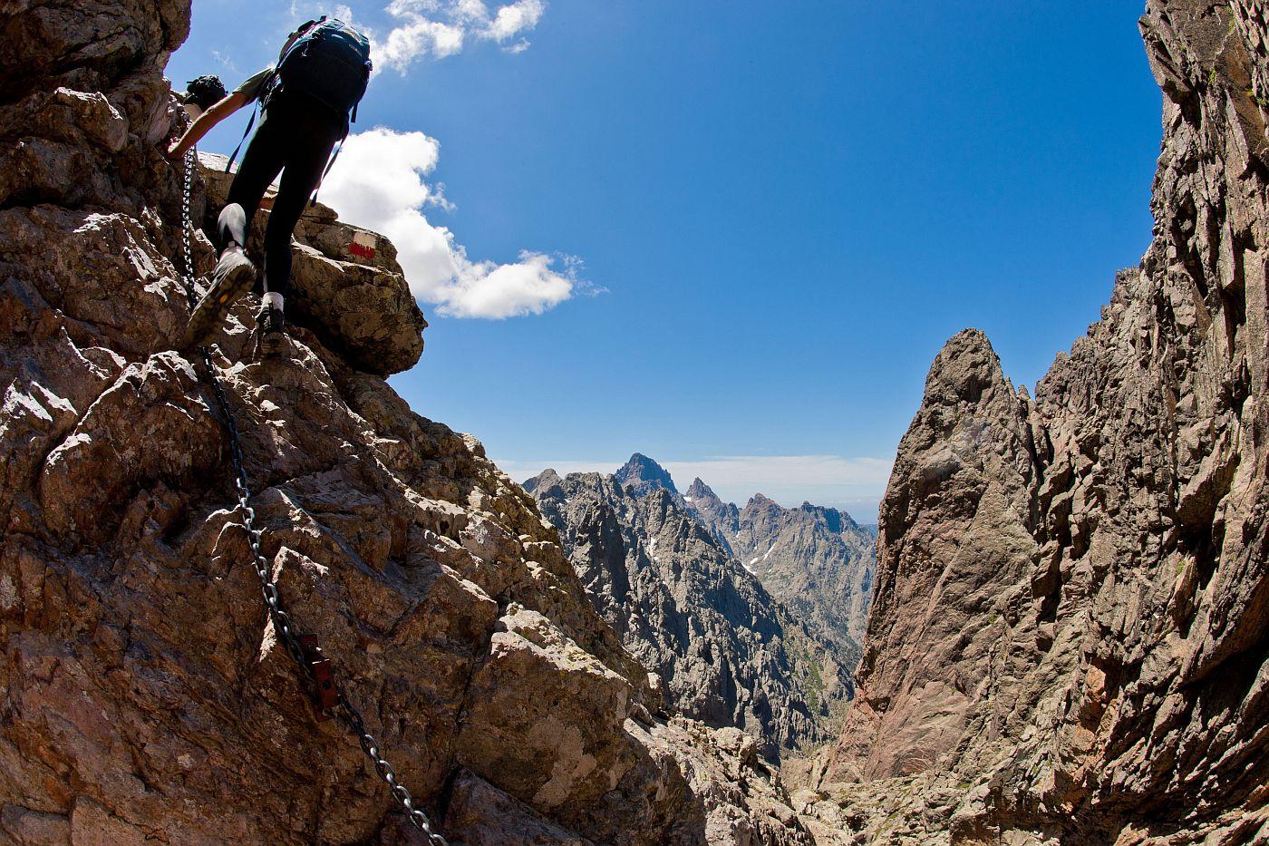 Klettersteig Vogesen : Via ferratas in frankreich