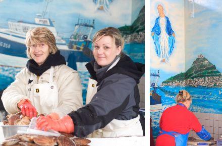 Marché aux poisson, ®Ludovic Maisant et ®Fabrice Moley