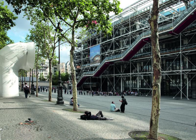 visit the centre pompidou
