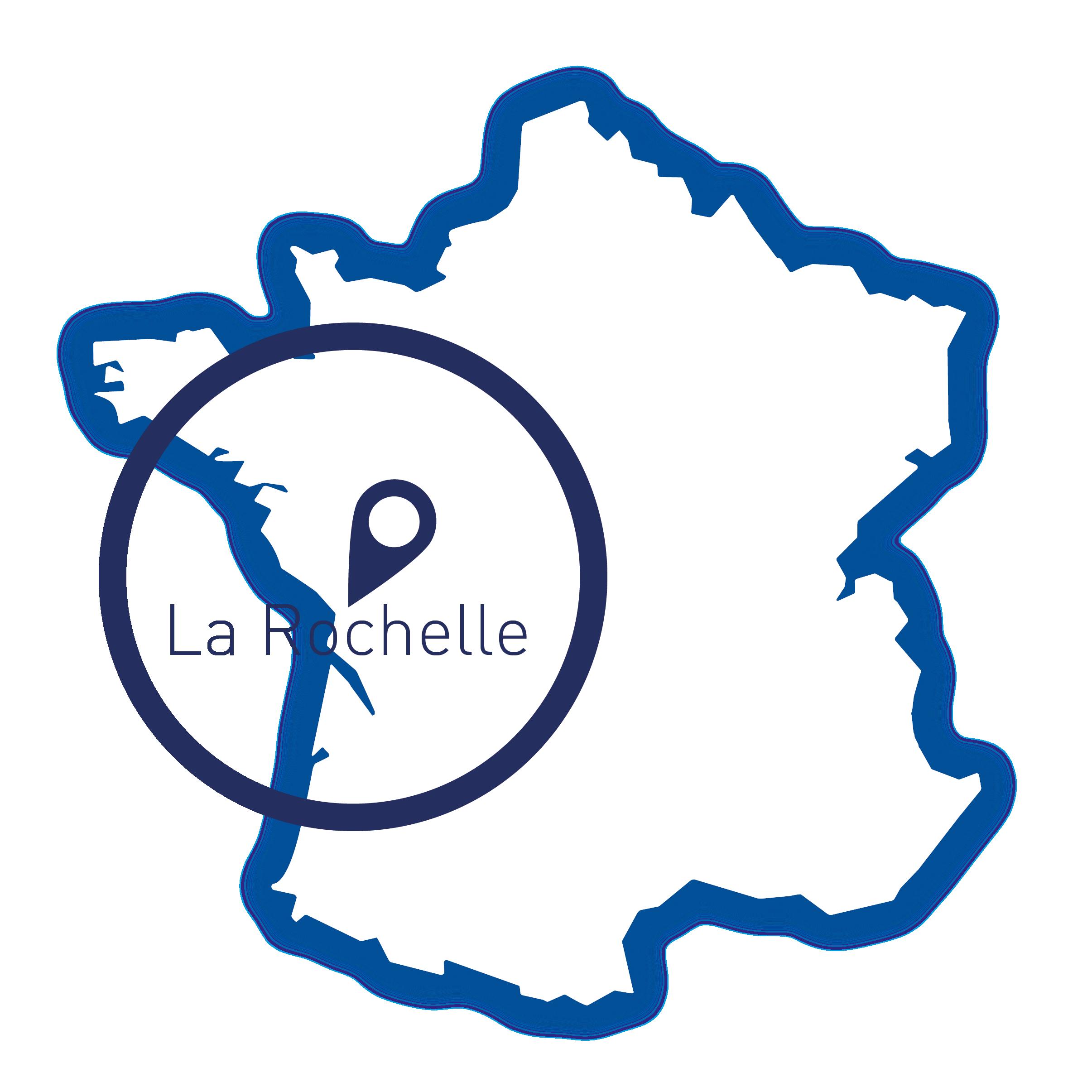 La Rochelle, carte France
