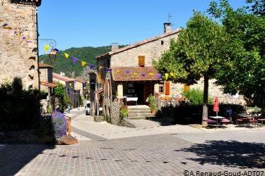 Dorf Boucieu-le-Roi © A. Renaud - ADT07