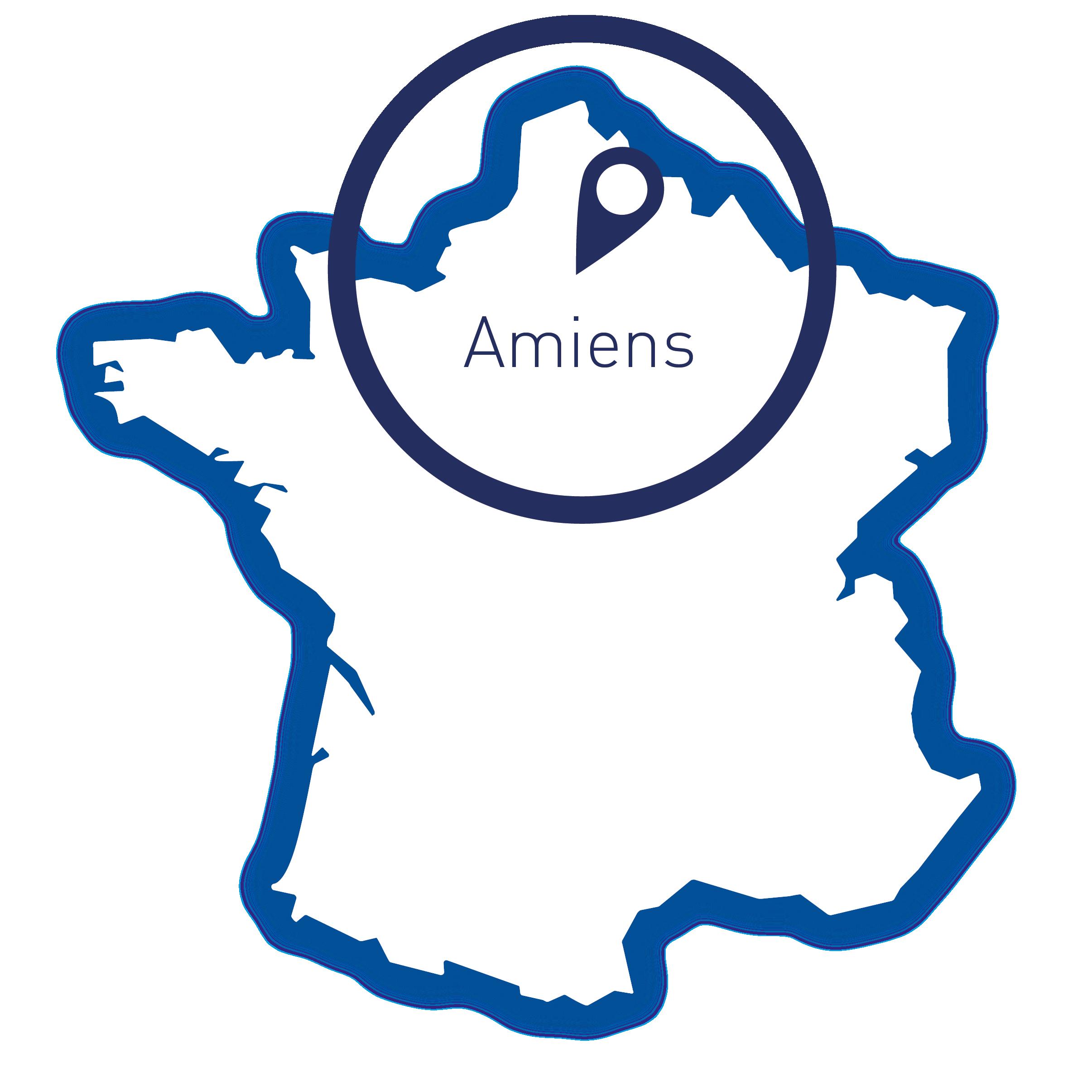 Carte de France, Amiens