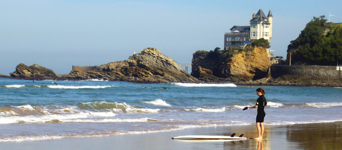 Basque country Biarritz