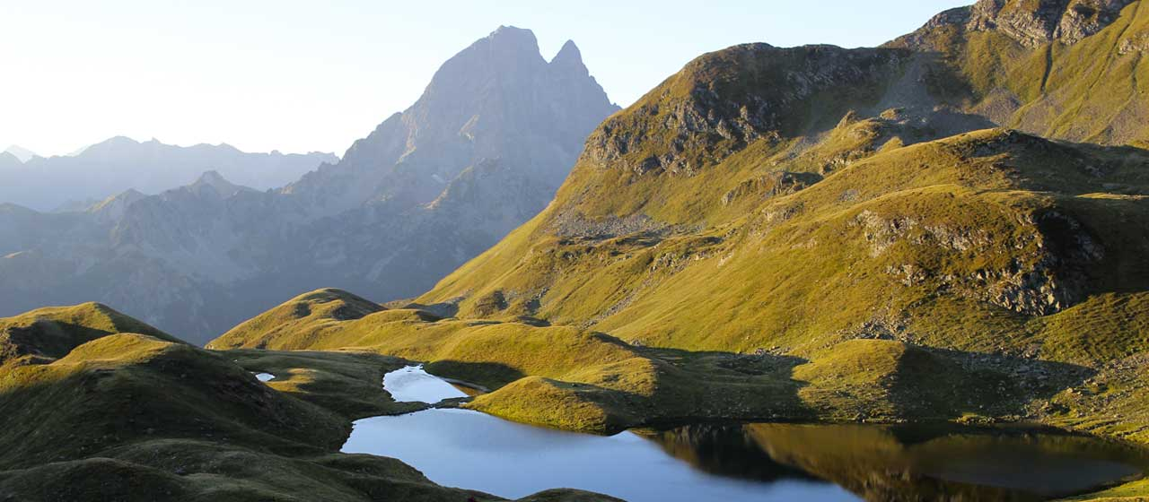 pic ossau, pyrenees, france