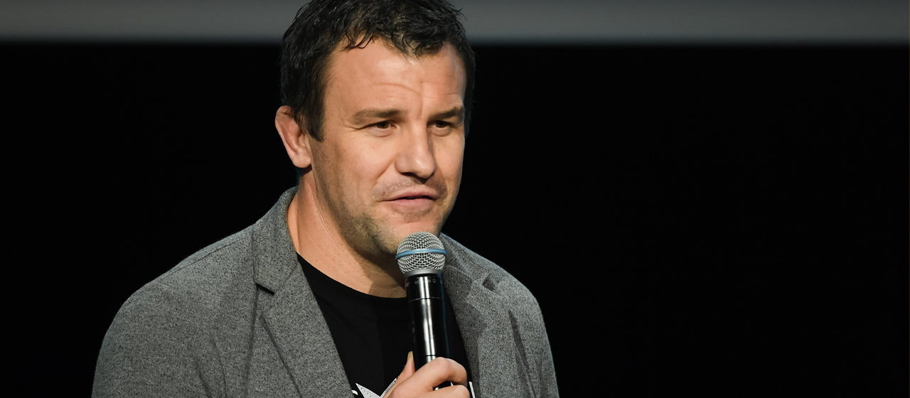 Damien TRAILLE -  Vice-champion du Monde de rugby