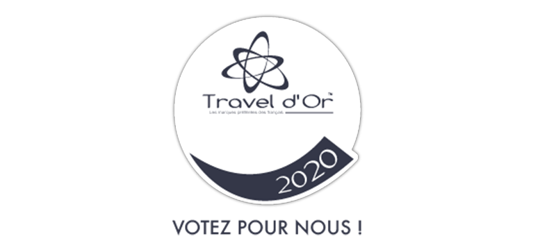 Bouton Vote Travel d'or 2020