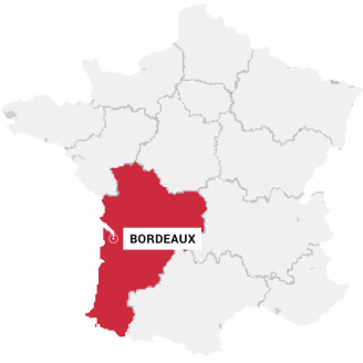 Bordeaux - Carte