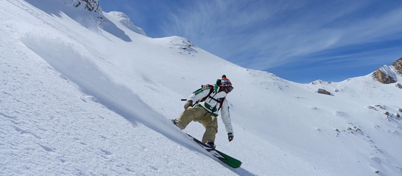 Pyrénées, a ski trip to Béarn