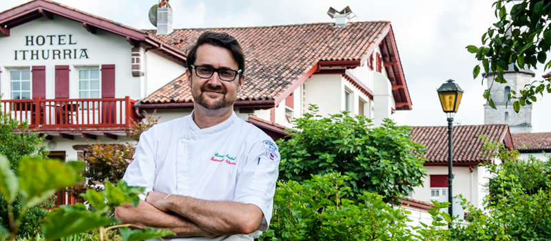 chef Xavier Isabal - Ithurria