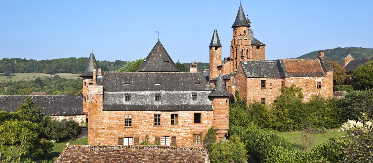 Vue panoramique de Collonges-la-rouge