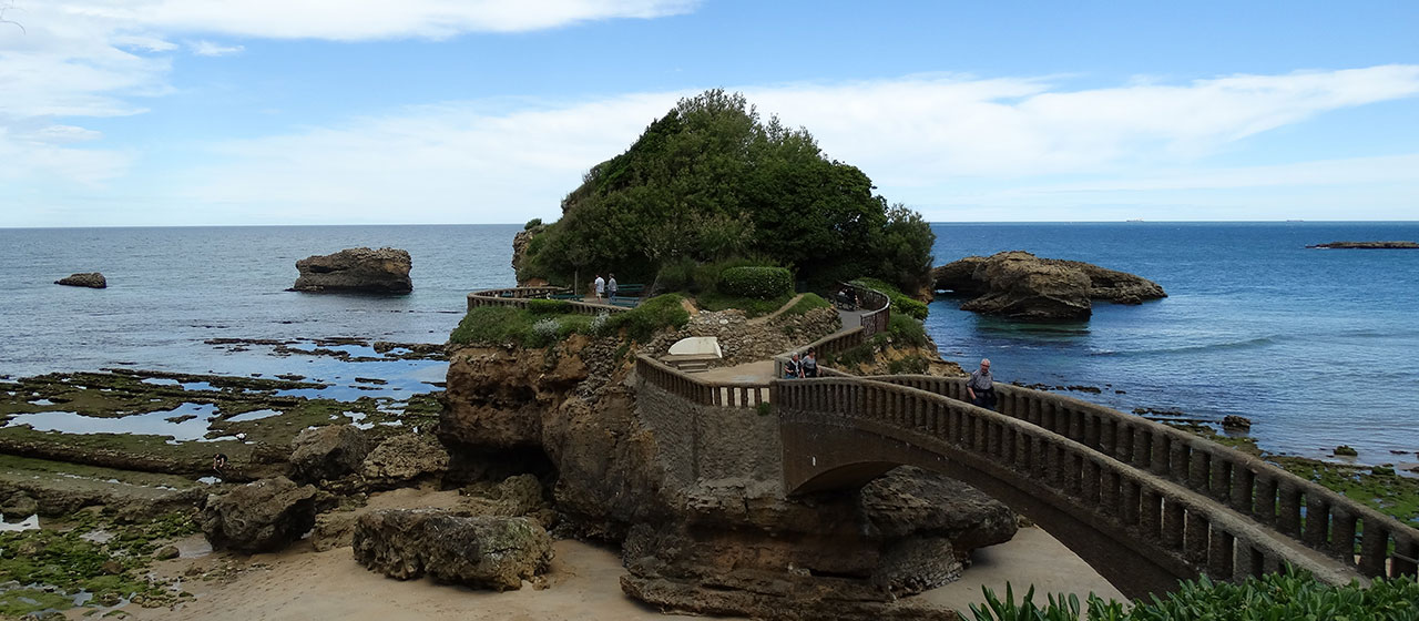 Rocher du Basta - Biarritz - Petit air de Dragonstone GOT