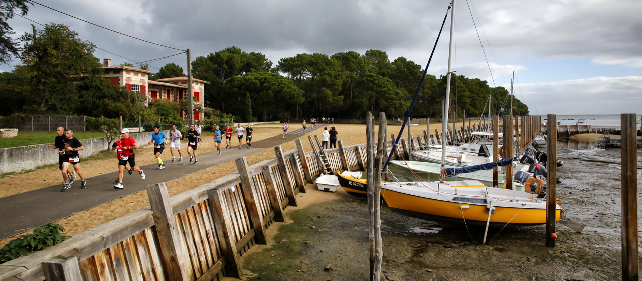 Marathon villages Cap Ferret