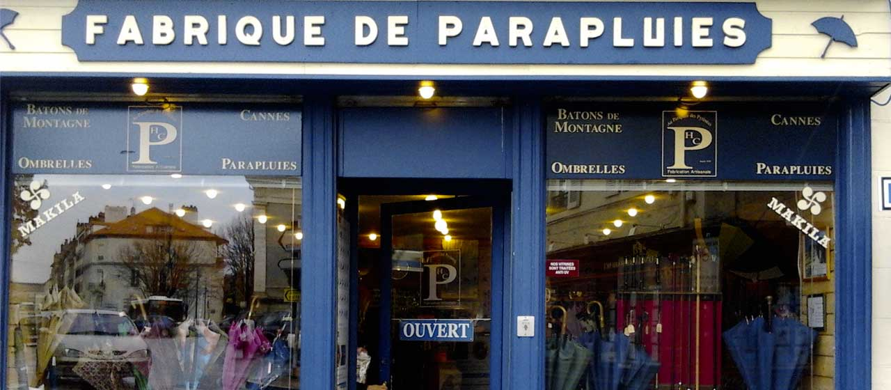 Boutique Parapluie de Berger Pau