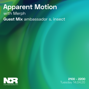 Apparent Motion feat. ambassador s. insect