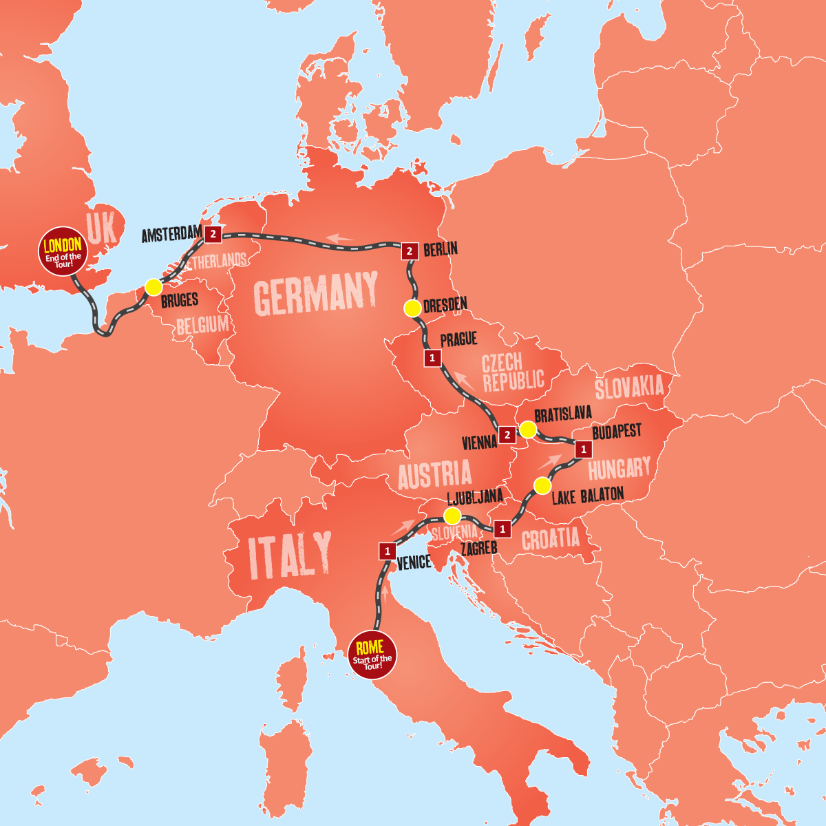 Best of Eastern Europe - Tour Package - Expat Explore Travel