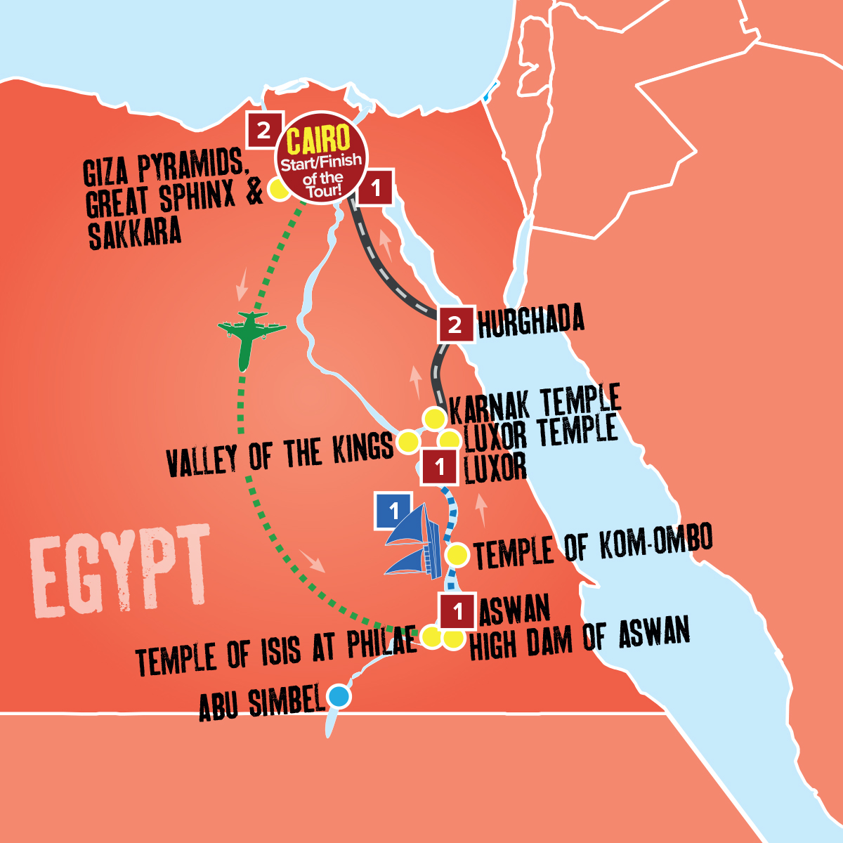 Egypt Holiday Packages Coach Tours Expat Explore Travel