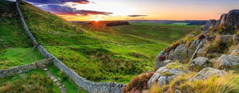 Hadrian's Wall - Alnwick Castle - York