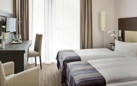 Intercity Bonn rhine valley germany hotel room