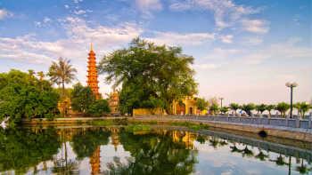 Arrive in Hanoi