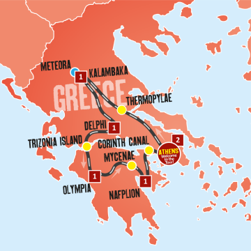 Taste of Greece Tour